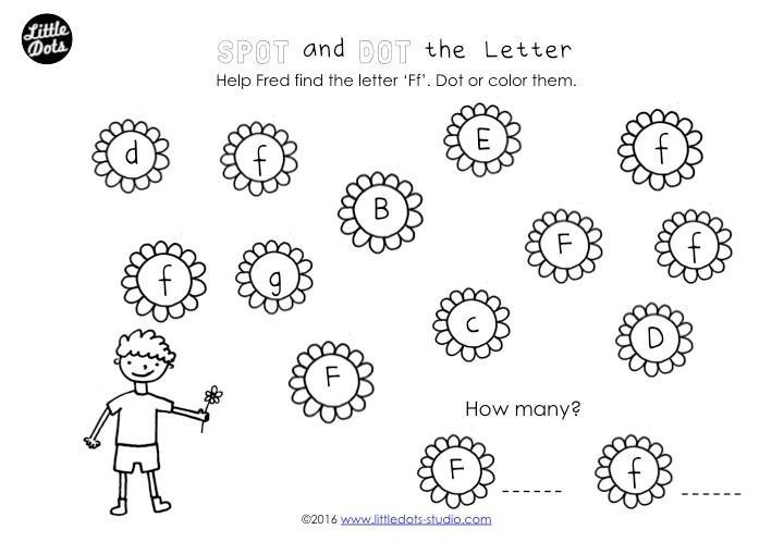 Preschool Letter Worksheets Free