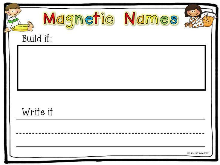 Preschool Printable Name Writing Worksheets