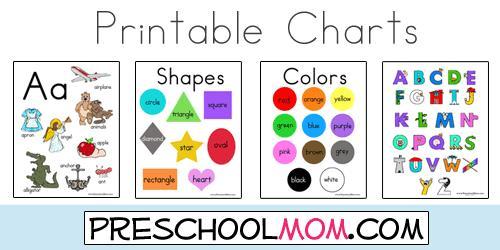 Preschool Worksheets Shapes And Colors 8