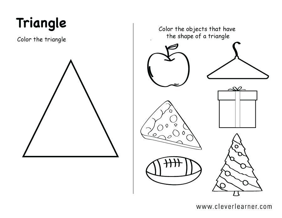 Preschool Worksheets Shapes And Sizes