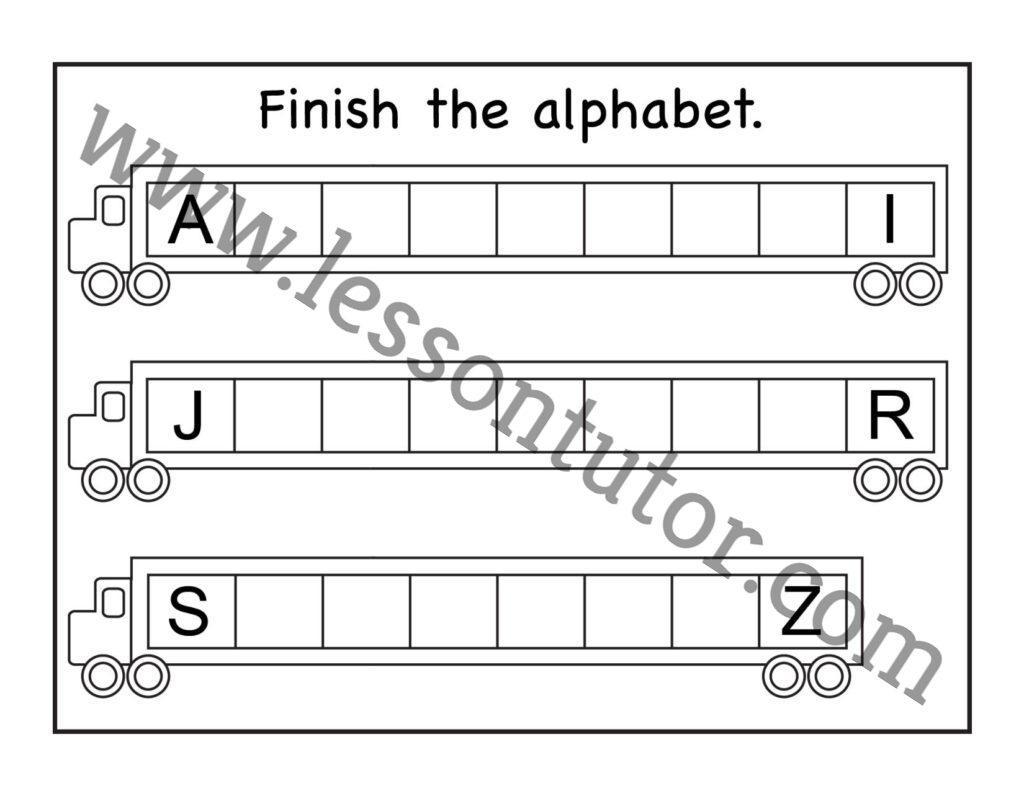 Preschool Worksheets Uppercase 9