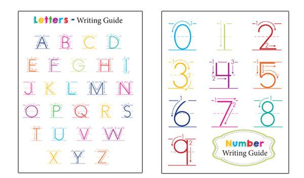 Preschool Worksheets Writing Numbers 4