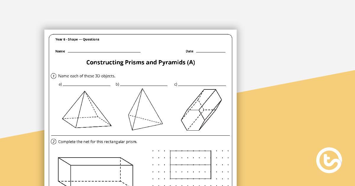 Free Math Worksheets Shapes