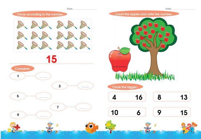 Free Printable Math Worksheets For Kg2