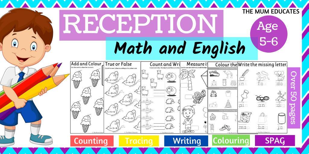 Math Worksheets Eyfs