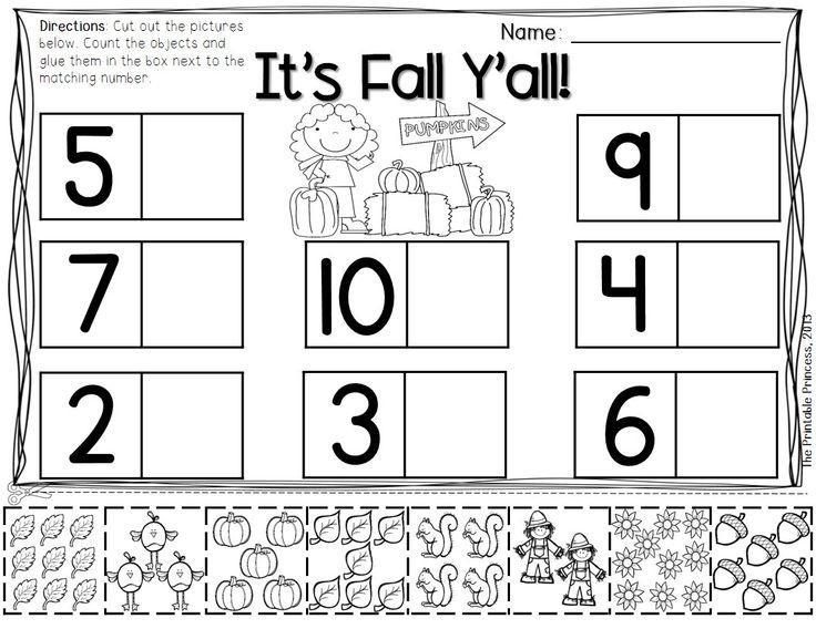 Math Worksheets For Jr Kg Students 6
