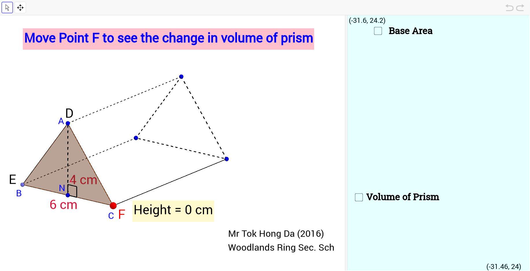 Math Worksheets Volume Of Triangular Prism 1