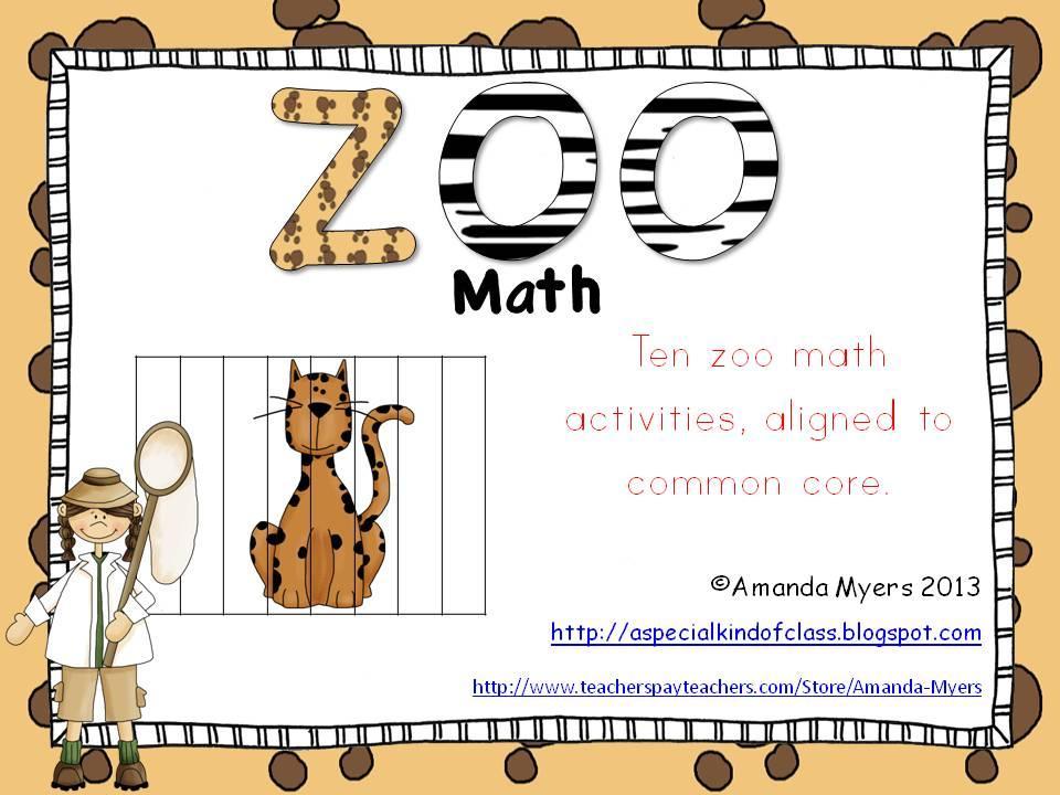 Zoo Math Worksheets 3