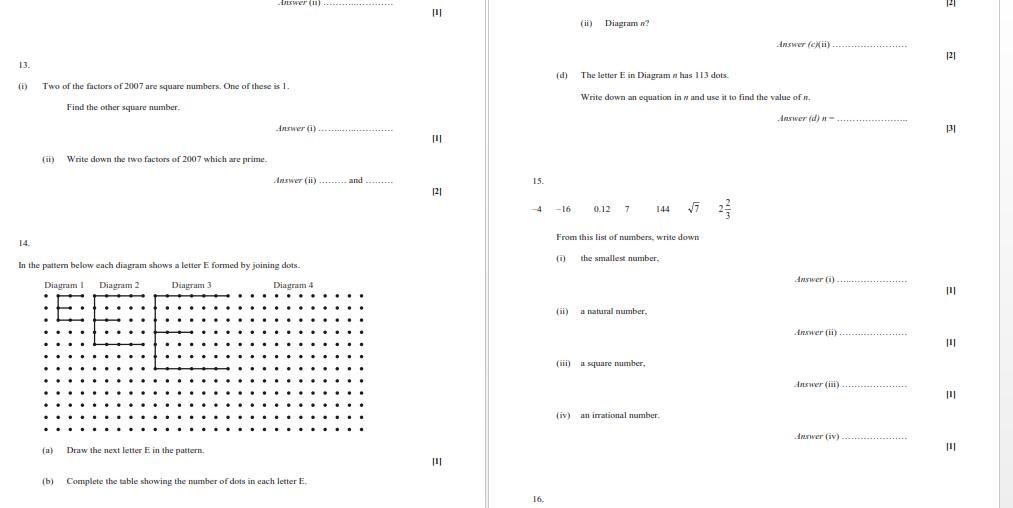 Algebra Worksheets Igcse 5