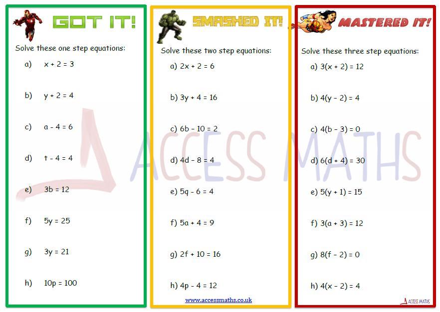 Algebraic Fractions Worksheet Pdf Corbettmaths