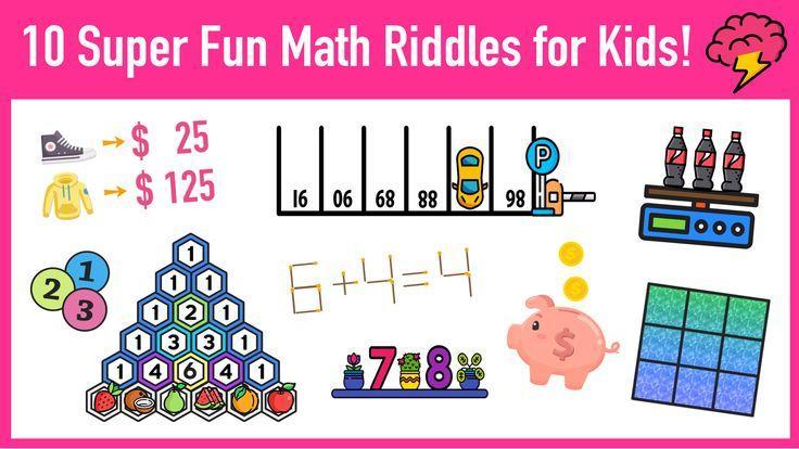 Math Riddles Worksheets Pdf