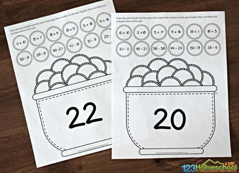 1st Grade Addition And Subtraction Worksheets Pdf