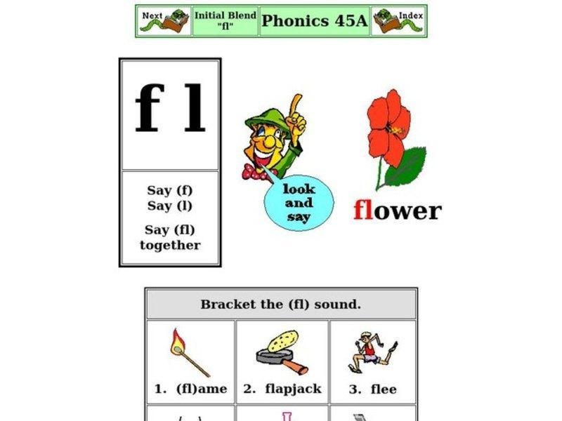 1st Grade Blending Words Worksheets