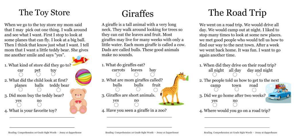 1st Grade Ela Worksheets