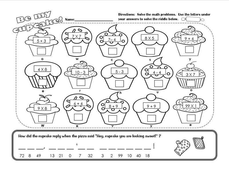 1st Grade Math Worksheets Coloring