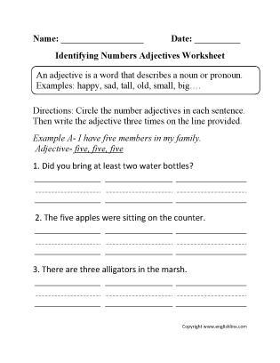 1st Grade Proper Nouns Worksheet