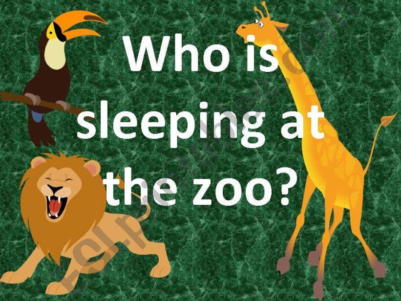English Worksheets Zoo Animals 6