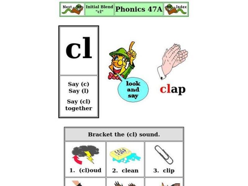 First Grade Word Blending Worksheets