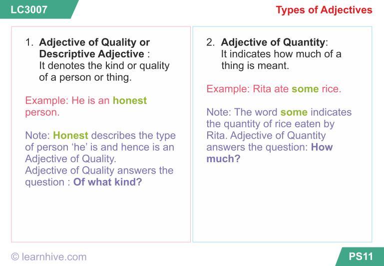 Grade 1 Adjectives Worksheets Pdf
