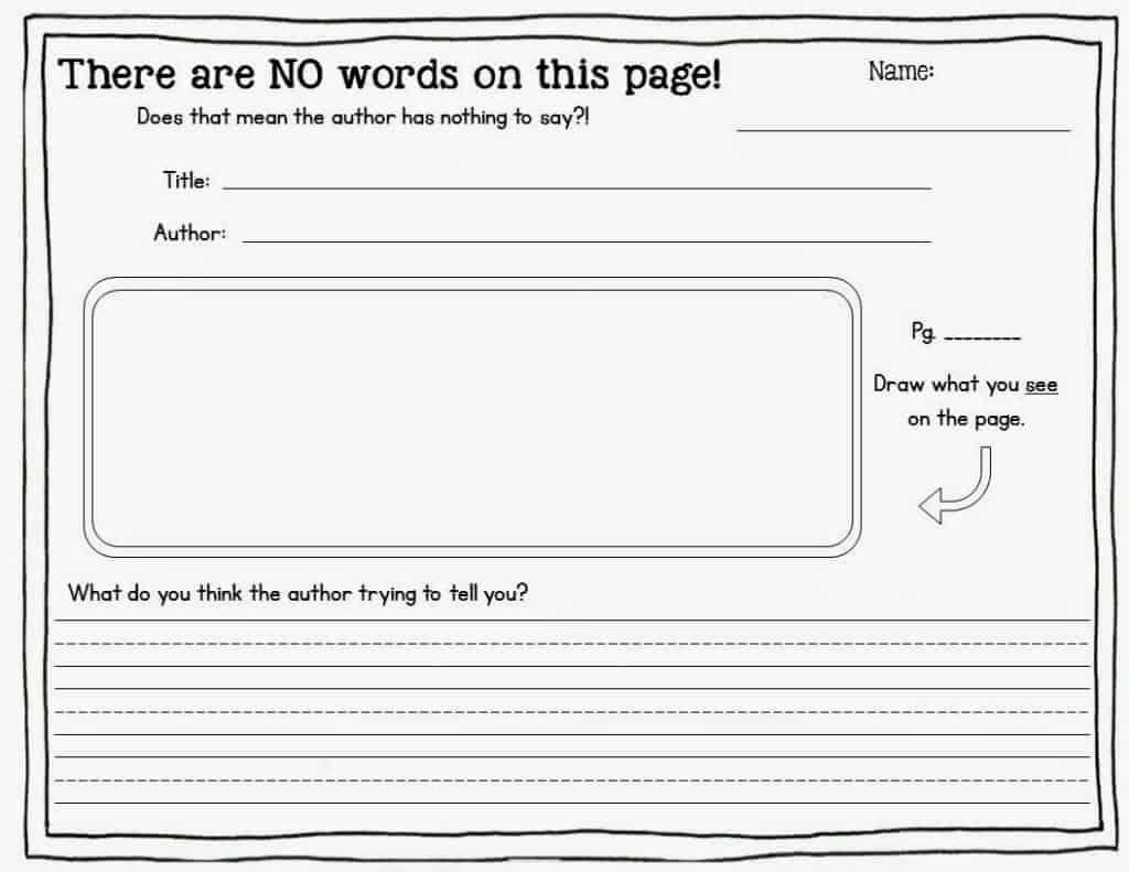 Inference Worksheets For 1st Grade