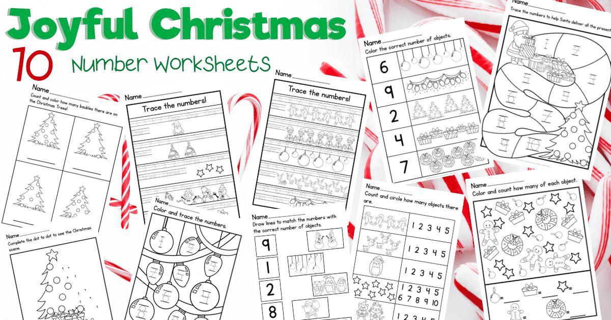 Christmas Integer Worksheets   Smart Kids Ideas