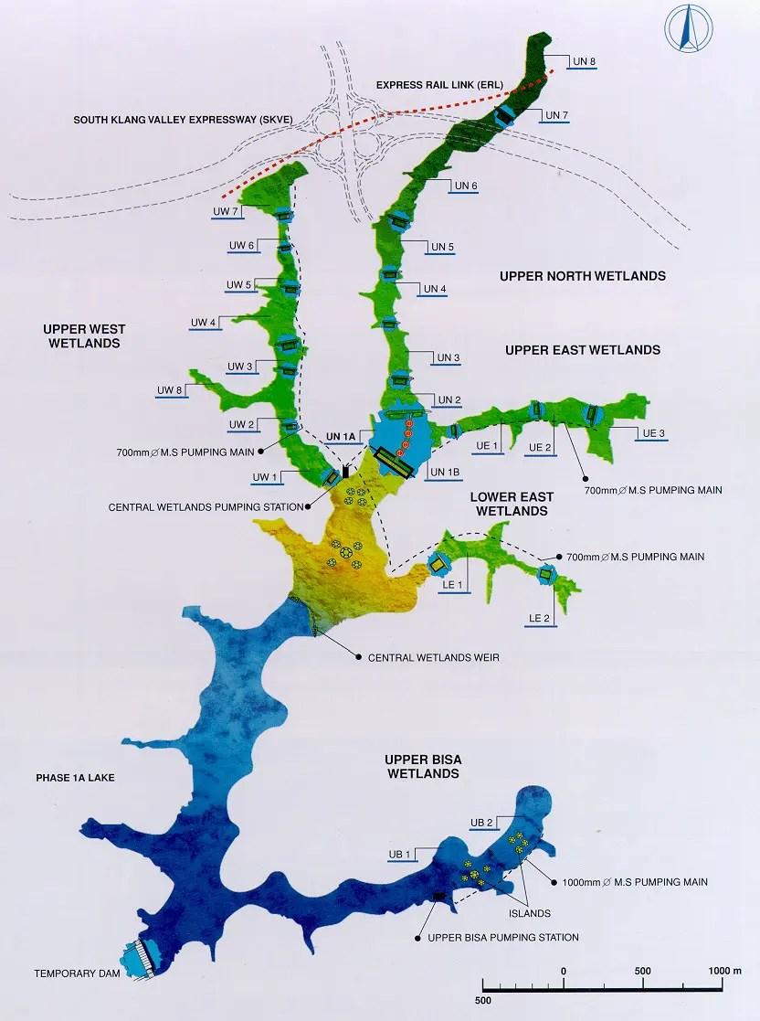 Figure 1: Putrajaya constructed wetland