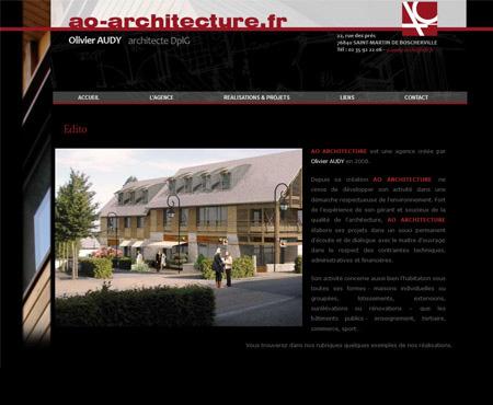 création site internet architecte seine maritime
