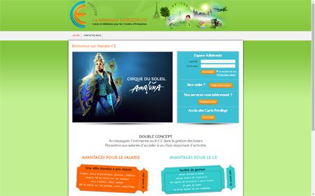 création site internet billetterie loisir