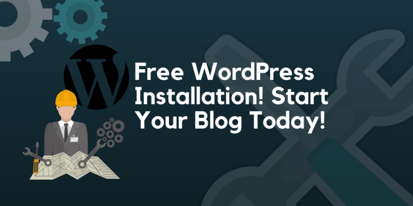 free wordpress installation