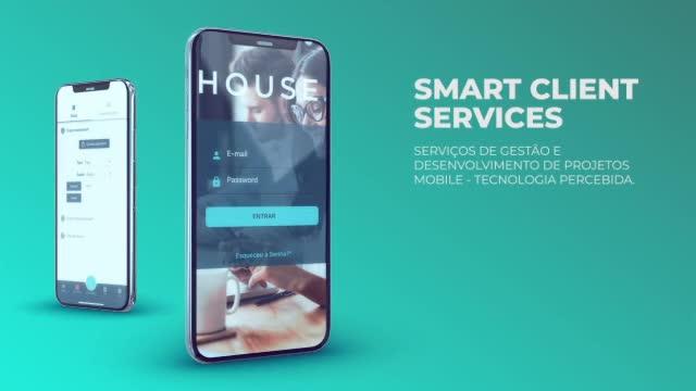 Video promo do app House Smart Agency.