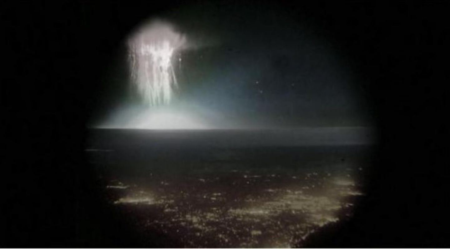 Sagome spettrali nello spazio