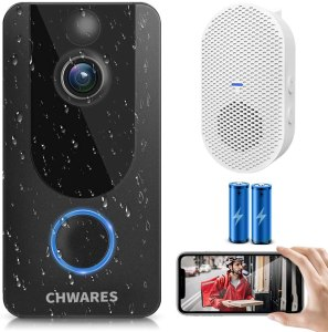 Energizer Connect Smart 1080p HD Video Security Doorbell, Best Smart Locks For Home Security