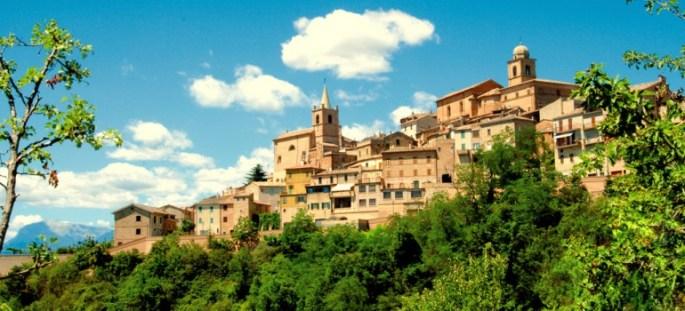 Panorama Montedinove