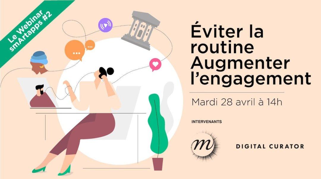 REDIFF — Le Webinar #2 : Éviter la routine. Augmenter l'engagement.