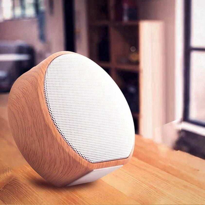 Bluetooth дървена колонка
