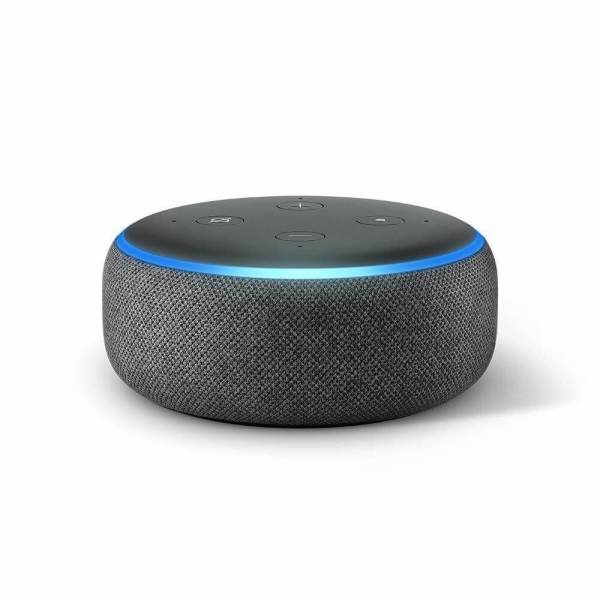 amazon echo to 3 Charcoal - въглен