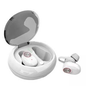 безжични bluetooth earplugs бели
