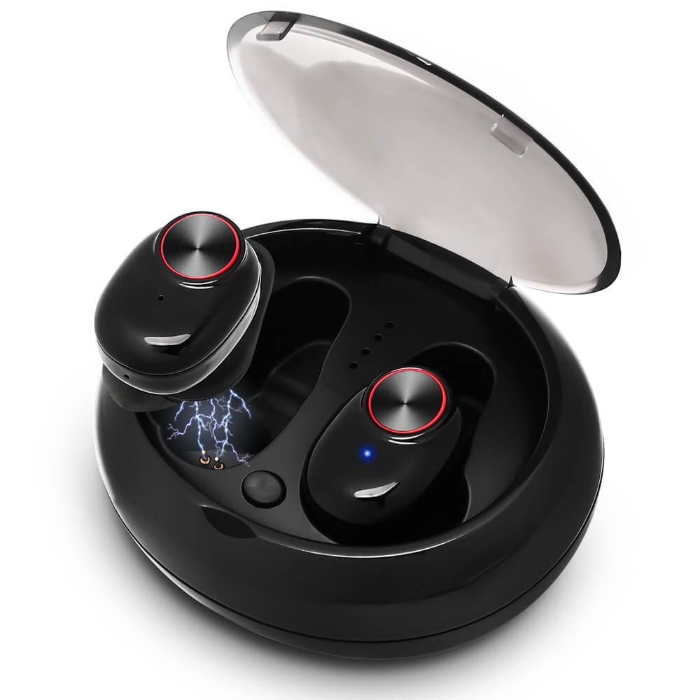 безжични Bluetooth слушалки черни