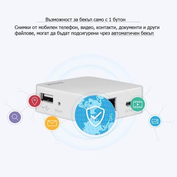 безжично управление на хард диск