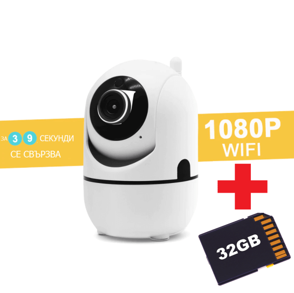 безжична WiFi IP Камера