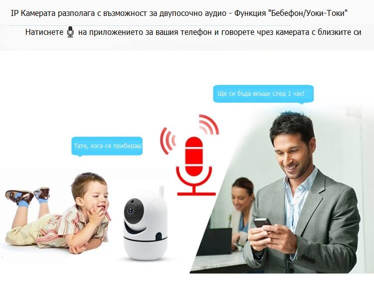 ip камера двупосочно аудио
