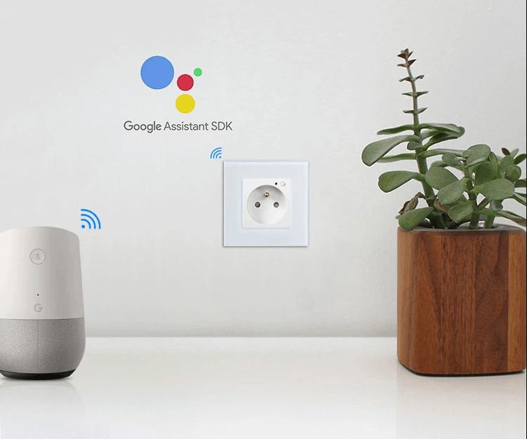 смарт контакт управление с гугъл асистент
