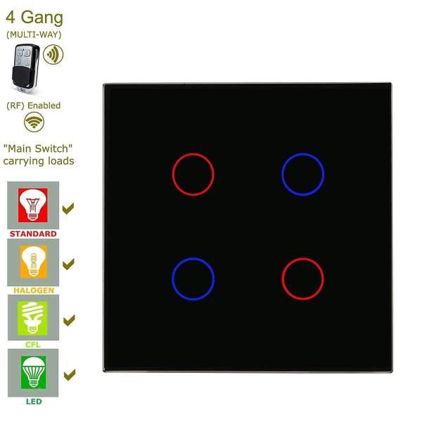 дистанционно управление на осветлението тъч ключ