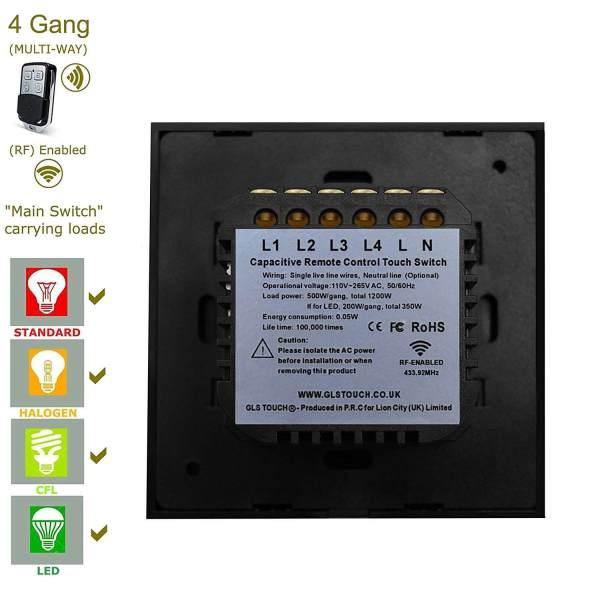 свързване на сензорен ключ за осветление сензорен