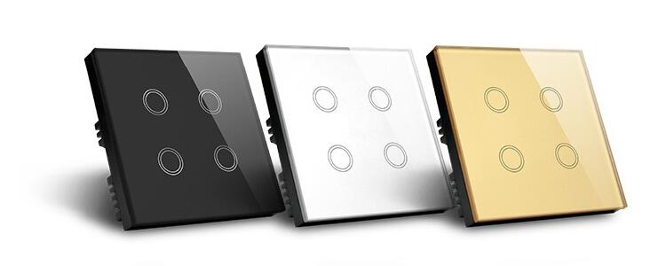 три цвята сензорни ключове за осветление
