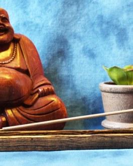 Incense Holder, Bocote wood, Flat design