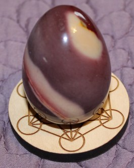Gemstone Sphere Holder, Metatron's Cube
