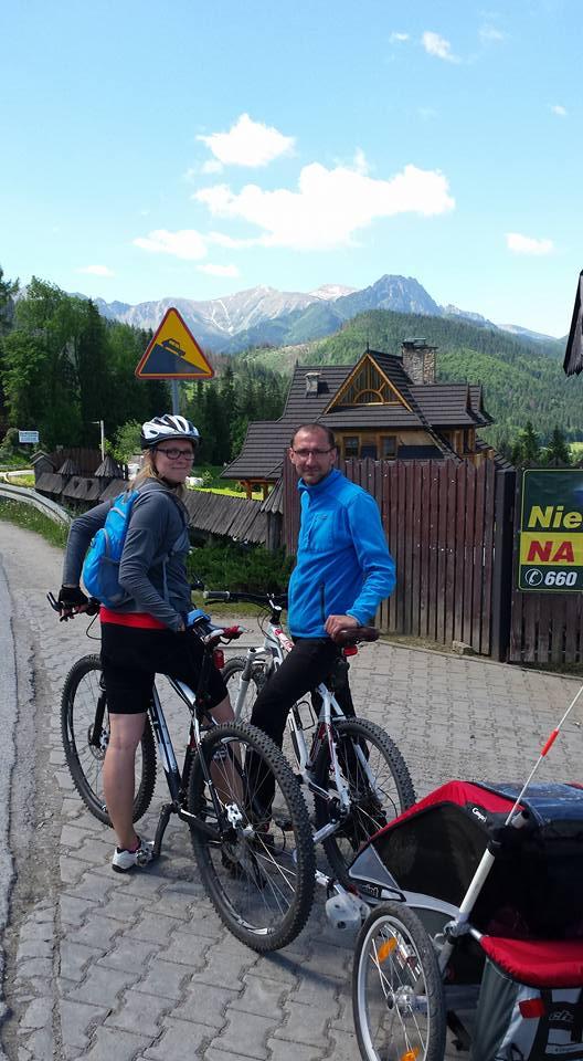 Rower w górach z dzieckiem? Można!