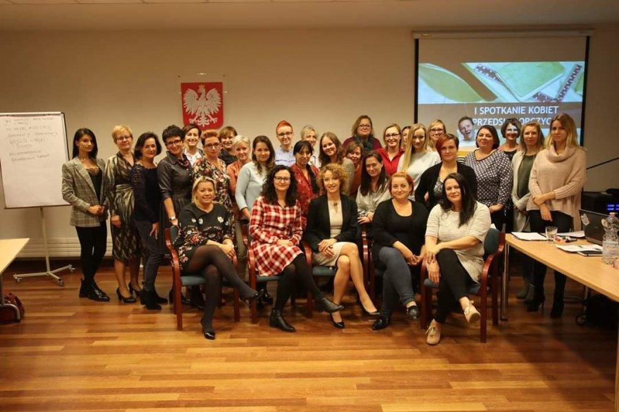 Biznes z głową w Siechnicach - Pierwsze spotkanie przedsiębiorczych kobiet