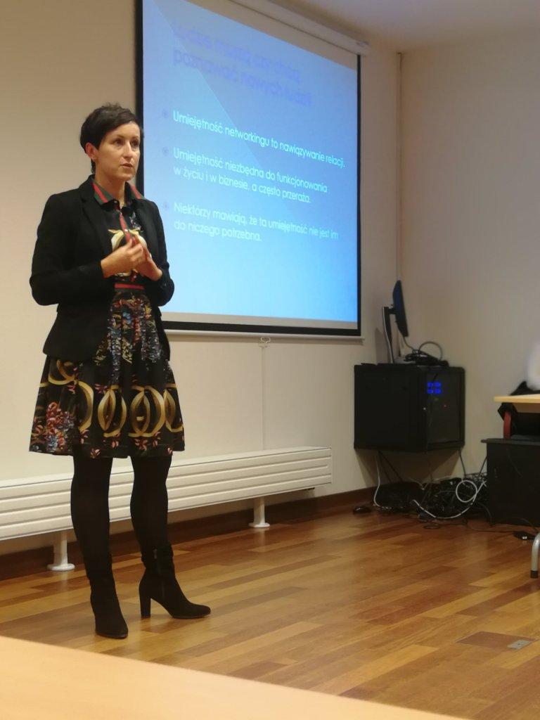 Kamila Bartoszek o networkingu